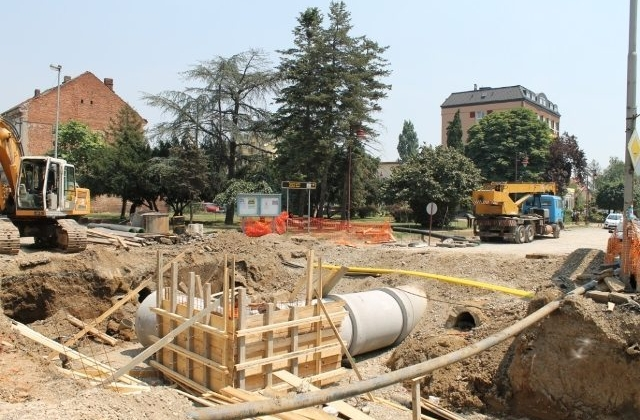 Works on the construction of sewerage system Bijeljina, Phase II